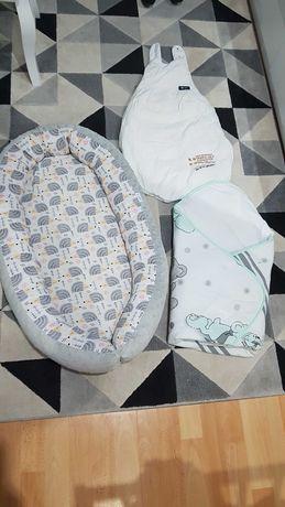 Kokon, śpiworek, różek dla niemowlaka