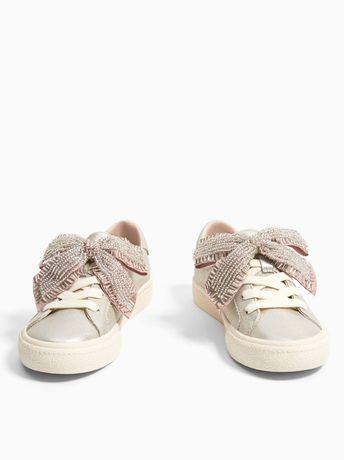 Ботиночки для девочки ZARA, 18,5 см кеды мокасины
