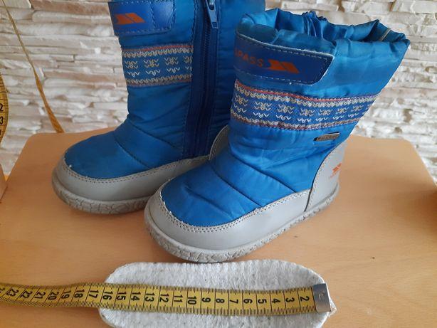 Śniegowce buty ciepłe wodoodporne TRESSPAS rozmiar 26
