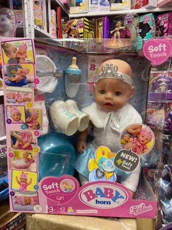 Кукла BABY born Нежные объятия - Балеринка снежинка кукла беби борн