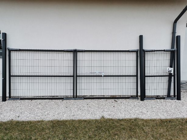 Brama panelowa brama wjazdowa + furtka 1,53