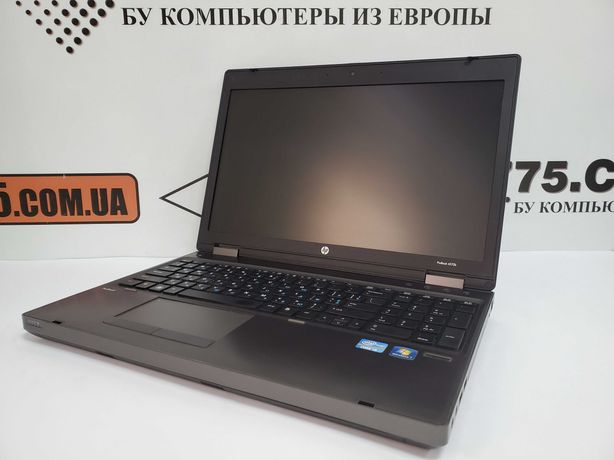 "Ноутбук 15.6"" HP 6570b, Intel Core i5, 8GB RAM, 120GB SSD"