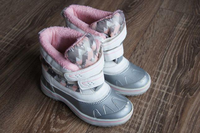 Buciki zimowe LIDL Lupilu _ dla dziewczynki stan bdb _ r.28 !!!