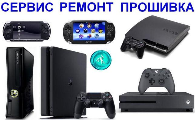 Ремонт Чистка Прошивка Игровых Приставок
