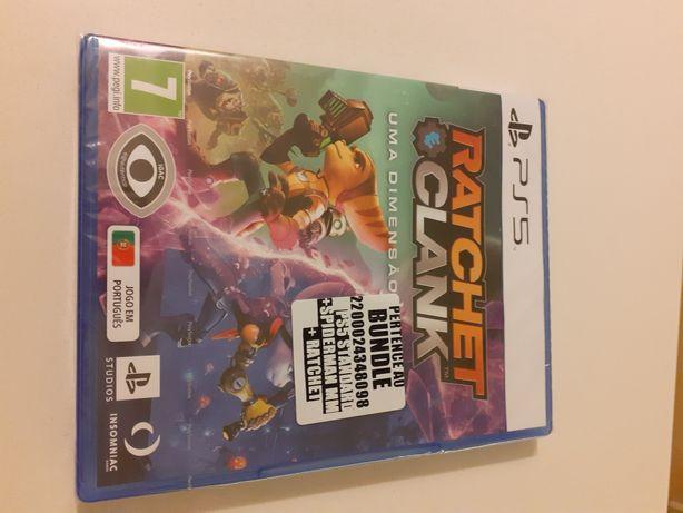 Jogo PS5 Jogo Ratchet & Clank !! NOVO ainda no plástico!