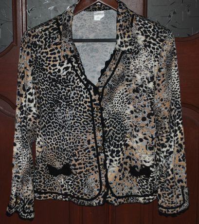 блузка леопард 46-48 р