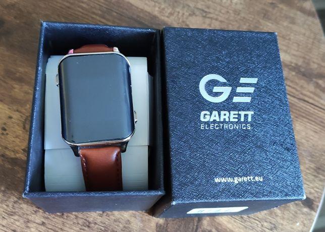 Garett smartwatch GPS classic złoty - zegarek dla seniora