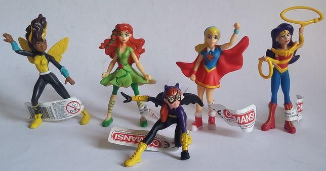Figuras Bonecos  em pvc super heróis-Comansi