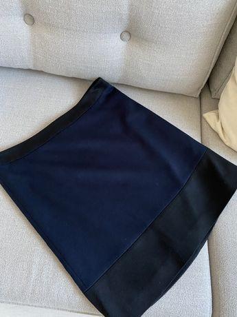 Spodniczka Esprit jak nowa 38 granatowa czarna