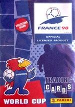 Karty Panini FIFA World Cup 1998 France Trading Cards