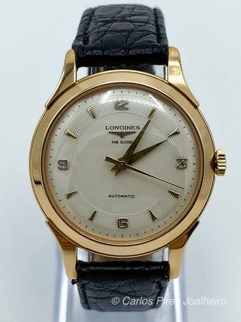 Relógio Longines Gents Ouro Vintage 1952