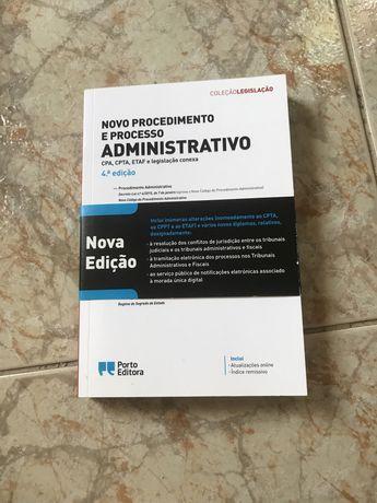 Novo procedimento e processo adminitrativo
