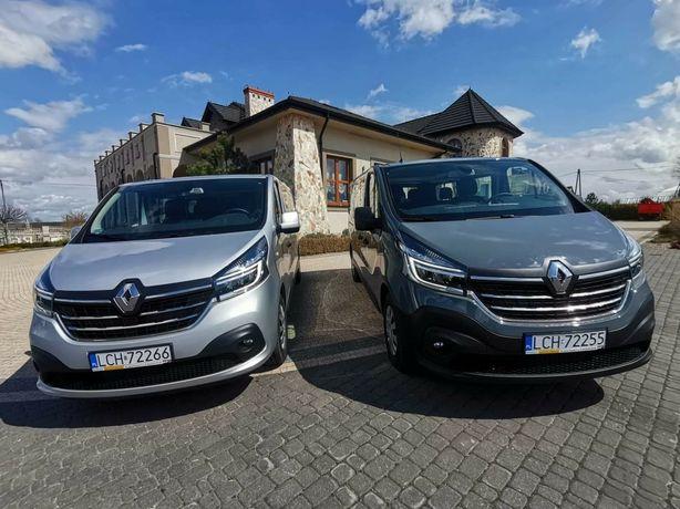 Wynajem i wypożyczenie busów Renault Trafic