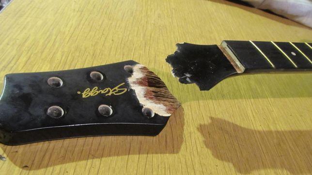 Профессиональный ремонт гитар в Днепре