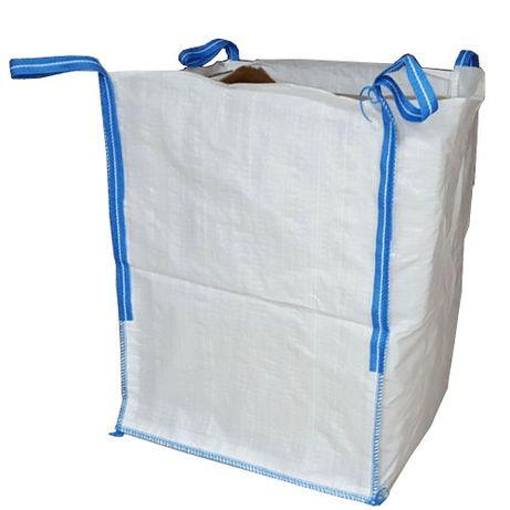 Worek kontenerowy big bag NOWY płaskie dno 75x75x75