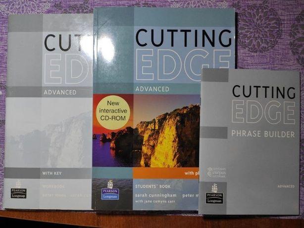 Книга Cutting Edge Advanced. Students Book (+CD-ROM) + workbook