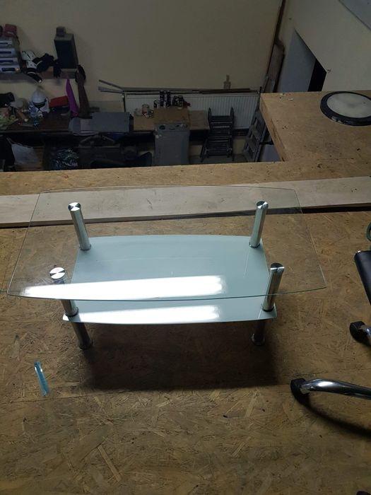 Mała szklana ława stolik Rogoźnica - image 1