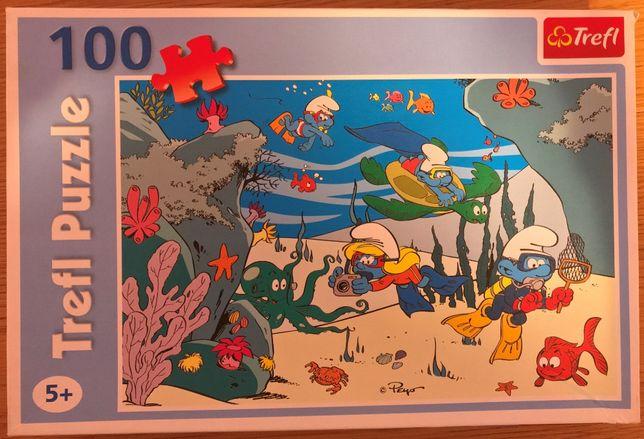 Puzzle 100 Smurfy