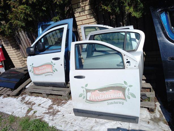 Drzwi lewe Dacia dokker 2014r