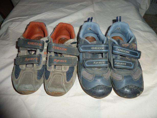 Geox Кожаные туфли, кроссовки, ботинки р 28-29