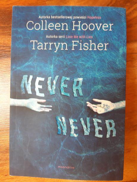 """Książka młodzieżowa """"Never never"""""""