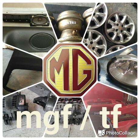 Peças para MG MGF e TF