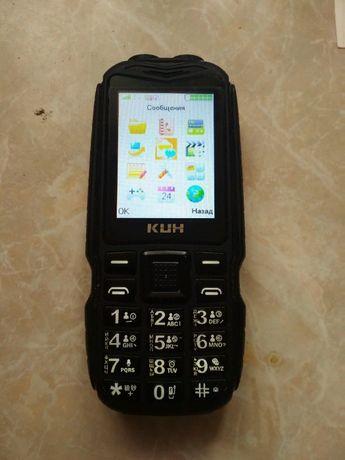 Телефон кнопочный противоударный KUH T3