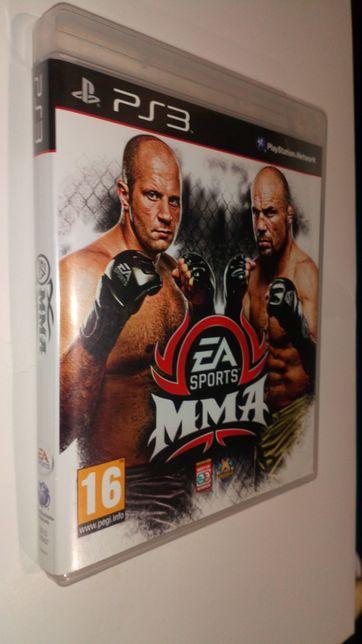 Gra PS3 MMA boks zapasy wrestling PlayStation 3 gry Tekken