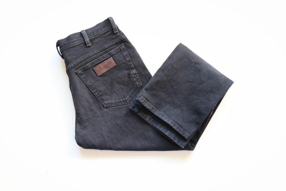Męskie spodnie Jeansy Wrangler TEXAS W33 L32 jak nowe okazja stretch Węgierska Górka - image 1