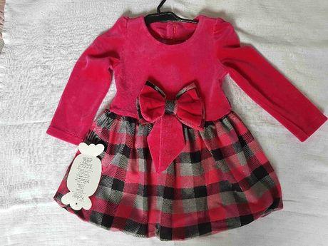 sukienka dla dziewczynki nowa z metką rozmiar 86