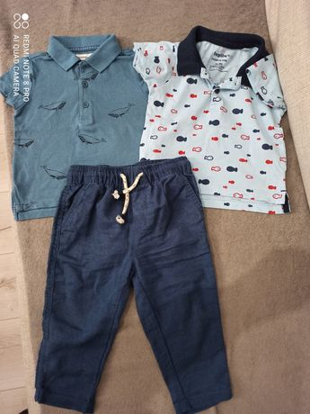 Spodnie i koszulki Polo