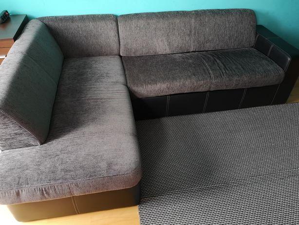 Narożnik, sofa z funkcją spania