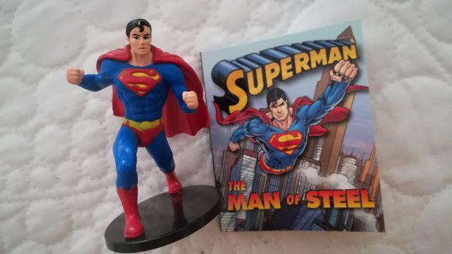 Super homem figura + livrinho - PORTES GRÁTIS