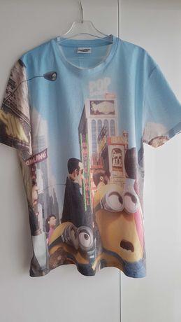 Koszulka MINIONS roz S świetna;)