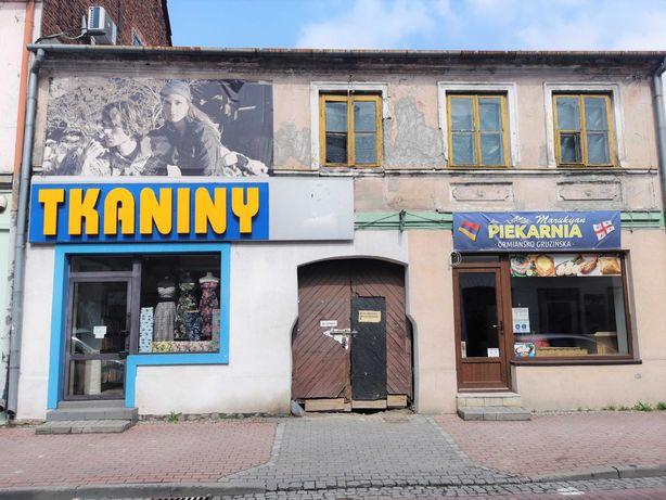 Kamienica, sklepy, lokale, mieszkania, ul. Zduńska Łowicz