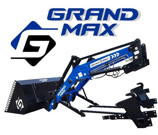 Кун Grand Max- надежный погрузчик с тягами на задний мост