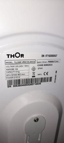 Máquina de lavar roupa thor TL2 800 VR02