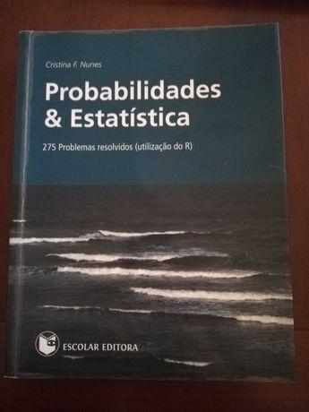 Probabilidades & Estatística   Cristina F. Nunes