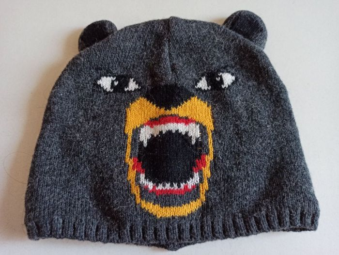Шапка детская медведь Гризли Одесса - изображение 1