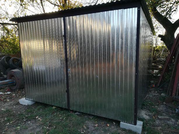 Garaż blaszany 3x5 blaszak dostawa z montażem