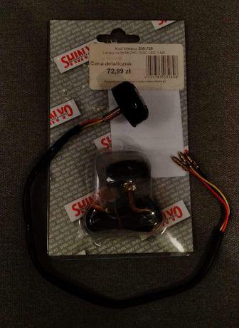 Światła motocyklowe stop micro disc custom bobber