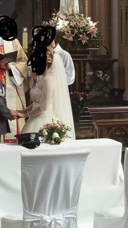Welon ślubny ivory