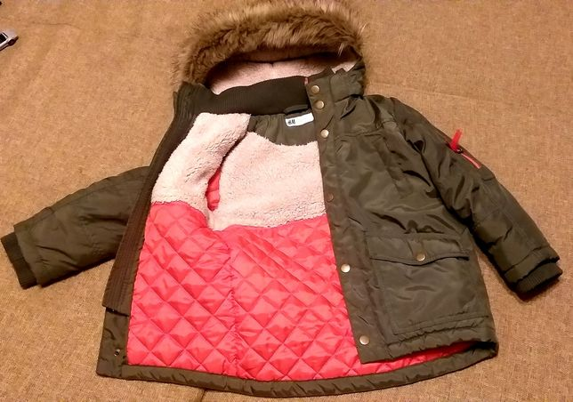 Куртка зимняя H&M 4-5лет