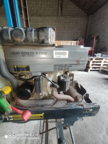 Silnik Kawasaki fd440v na części  kosiarka traktorek John Deere