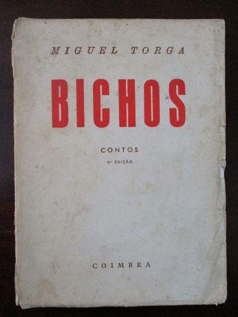 livro de Miguel Torga Bichos, Coimbra 8º Edição