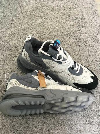 Travis Scott X Nike Air Max 270 React Grey