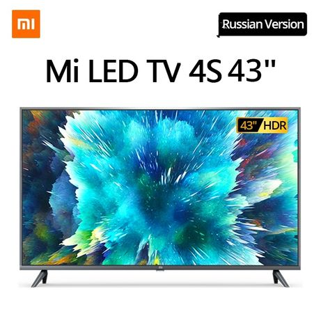 """В НАЛИЧИИ 25500 / Xiaomi Mi 4S 43""""/ 4К /Android/SmartTV"""