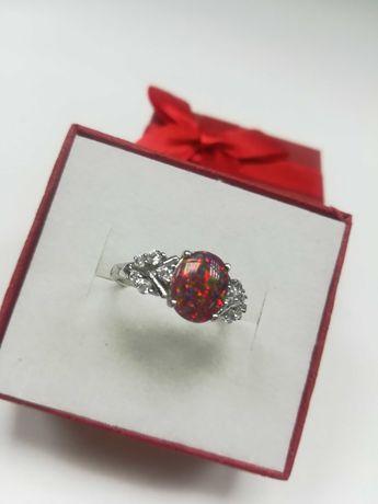 Srebrny pierścionek [925] rozmiar 17,5