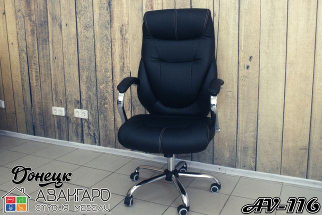"""Офисное / рабочее / компьютерное кресло из экокожи """"AV-116"""""""
