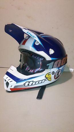кроссовый шлем thor